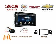 1995-2002 GM FULL SIZE TRUCK SUV Touchscreen BLUETOOTH CD 2 DIN CAR STEREO KIT