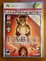 Microsoft Xbox New Factory Sealed Platinum Hits Fable The Lost Chapters Mint!