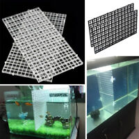 2 PCS Grid Divider Tray Egg Crate Aquarium Fish Tank Filter Bottom Isolate