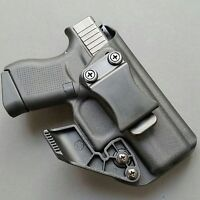For Glock 43/43X Straight Draw- IWB Kydex Holster + RCS CLAW