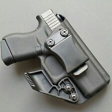 BSD Holsters: Glock 43 with RCS CLAW. Kydex Holster IWB Straight Draw.