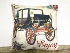 CARRIAGE Printing DIY Sofa Bed Home Decor Pillow Case Cushion Cover45/45cm