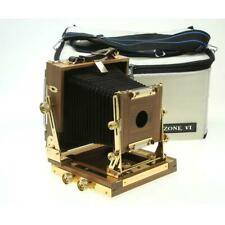 Zone VI 4x5 Field Camera with Gold Fittings