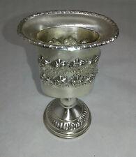 Havdalah Holder on stem - Motzai Sabbath - Judaica - Sterling Silver 925 - 57 g