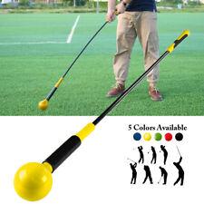 47'' Golf Swing Stick Training Aid Trainer Strength Speed Tempo Practice