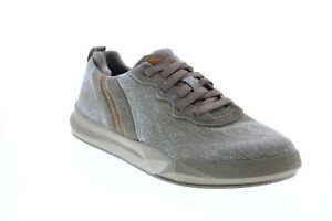 Skechers Norsen Valo 66371 Mens Gray Canvas Lifestyle Sneakers Shoes