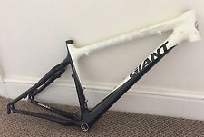 "Giant XTC Composite 1 26"" Carbon Mountain Bike Frame White & Black 17"""