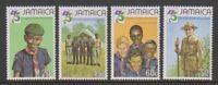 Jamaica - 1982, Boy Scout Movement set - MNH - SG 546/9
