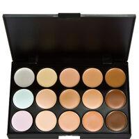Professional 15 ColorsSalon/Party Contour Face Cream Makeup Concealer Palett H5