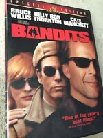 Bandits (DVD, 2002, Special Edition) Bruce Willis Movie Dvd!