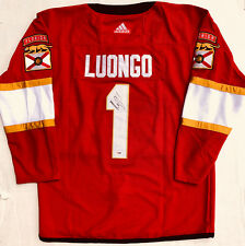 PSA/DNA Florida Panthers #1 ROBERTO LUONGO Signed Autographed Hockey Jersey