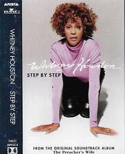 WHITNEY HOUSTON STEP BY STEP CASSETTE SINGLE Electronic House, Garage House
