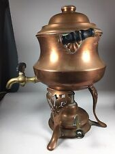 Antique Vintage Coffee Tea Percolator Manning & Bowman Co. 1913