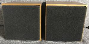 Vintage AURATONE USA 5C Super Sound Cubes - Set Of 2