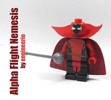 LEGO Custom Nemesis Alpha Flight Marvel super heroes mini figure x-men deadool