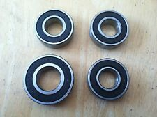 "Go Kart 5/8"" Bearing and 3/4"" Bearings Replacement Front Hub Bearings Lot of 4"
