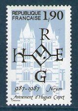TIMBRE N° 2478 NEUF XX LUXE - MILLENAIRE DE L'AVENEMENT D' HUGUES CAPET