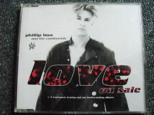 Phillip Boa-Love in Sale Maxi CD-Made in Germany