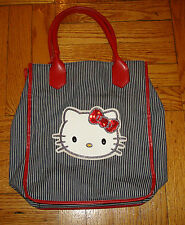 HELLO KITTY BAG Sanrio OFFICIAL Sparkle Black White Red PURSE 2008 Womens Girls