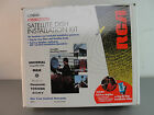 RCA SATELLITE DISH INSTALLATION KIT DKIT96 UNIVERSAL DO IT YOURSELF DIY USED