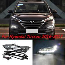 For Hyundai Tucson 2016-2018 DRL Daytime Running Light Fog Lamp Cover Switch Kit