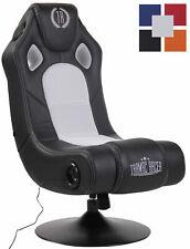 Gaming Soundsessel Taupo Kunstleder Musiksessel Bluetooth 2.1. Soundsystem Stuhl