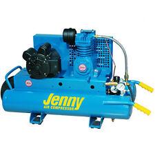 Jenny 1.5-HP 8-Gallon Electric Dual Voltage Wheelbarrow Air Compressor