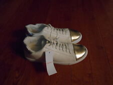 Esprit Wave-ES White/Soft Gold Women's 9.5 NEW NWT Athletic Sneakers shoes 9 1/2