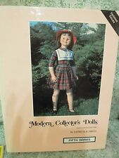 """Doll book, hc:""""Modern Collector's Dolls 5th series, by P. Smith 1984; rm-346"""