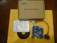 Anker USB 3.0 PCI-E CARD W/ 4 USB 3.0 Ports X000GUAV59 68ANPCIE-B3A1A