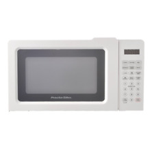 Digital Kitchen Microwave Oven Home Office LED Countertop White Small Appliance