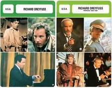 FICHE CINEMA x2 : RICHARD DREYFUSS -  USA (Biographie/Filmographie)