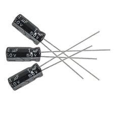 10 x 1uF 50V 105C Radial Electrolytic Capacitor 5x11mm F6