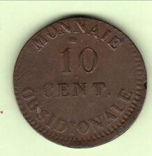 NAPOLEON siége anvers 10 CENTS 1814 1 R TYPE cote SUP 800 EURO !! Poids 25g3