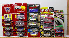 18 Vintage 1990s Racing Champions Die Cast NASCAR NHRA 1:64 Stock Cars Rods NOC