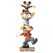 Disney Traditions 4055412 Teetering Tower Goofy Donald Duck & Mickey Mouse