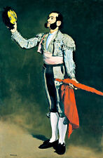 A Matador A2 by Edouard Manet High Quality Canvas Art Print