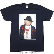 Supreme SS15 Neil Young T-Shirt Navy Box Logo Sz M
