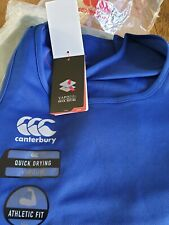 Canterbury Mens Core Vapodri Superlight Poly Logo Quick-Dry  singlet royal 4 xL