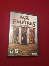 Age of Empires III PC Video Computer Game Rated T 2005