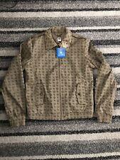 Adidas Missy Elliot Respect Me Jacket Size UK 14/US M 'BROWN/GOLD'