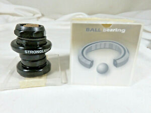 """NEW Stronglight A9 ST Headset 1"""" Threaded Road BLACK"""