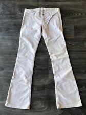 Abercrombie Kids Girls Corduroy Flare Beige Pants Size 16S