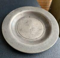 Vintage Pewter Dish