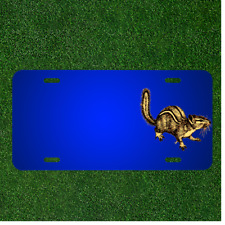 Custom Personalized License Plate With Add Names To Animal Chipmunk Mammal