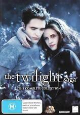 The Twilight Saga: The Complete Collection (Twilight / Ne . - DVD - NEW Region 4