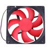 12V 120mm 120x120x25mm 5 zoll Brushless Computer Fall CPU USB Lüfter 12cm Rot