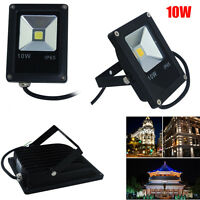 10W LED Floodlight Security Light Outdoor Garden Landscape Wall Lamp Cool White