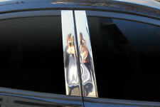 Chrome PVC B Pillar Cover Molding Trim B156 for Hyundai Elantra 2011 - 2015