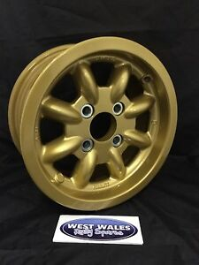 MINILITE Ford Group4 Escort - 6x13 Competition Rally Alloy Wheel - Gold
